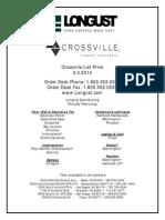 Crossville 2014 - List Price