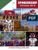 2014 Homecoming Sponsor Packet