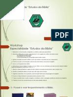I Workshop - 1a Parte (Web)