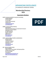 AELTCC 2014 Membership and Board Directory 9-10-14