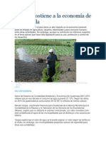 El Agua Sostiene a La Economía de Guatemala