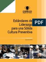 Estandares de Liderazgo Para Una Solida Cultura Preventiva