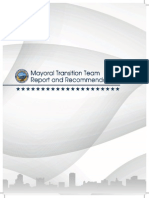 Long Beach Mayoral Transition Team Report and Recommendations