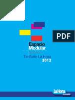 Tarifas La Hora 2012-13yr
