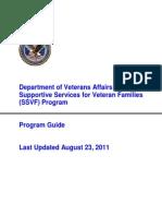 SSVF Program Guide