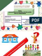 Concepción de Escuela en Relación Con La Comunidad