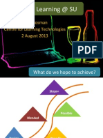 Blended Learning What we Hope to Achieve