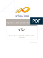Manual de Uso Plataforma GNU Dokeos