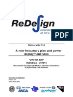 ReDeSign-D14 New Frequency Plan