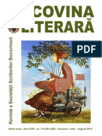 Bucovina literara 7-8, 2014