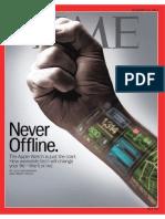 Time Magazine - Never offline