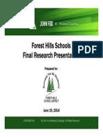 Fox Market Research Survey, June 2014