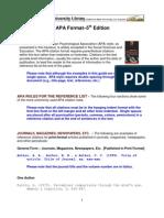 APA Citation Guides