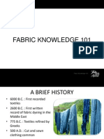 Fabrics Presentation