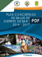Plan Concertado Salud San Pablo Cusco