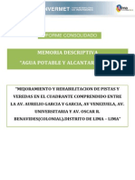 m.dagua y Alcantarillado Cuadrante