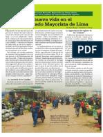 La nueva vida en el Gran Mercado Mayorista de Lima