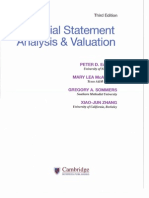 Module 1  Financial Statement Analysis and Valuation 3E