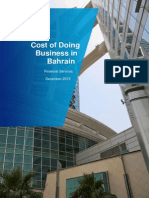KPMG CostofDoingBusinessinBahrain 2013Report