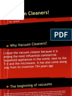 a brief history of- vacuum cleaners