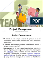 Lecture- 1 Introduction to Project Management