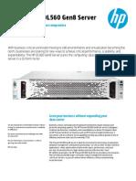 HP ProLiant DL560 Gen8 - Data Sheet