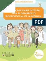 Visita Domiciliaria Integral Para El Desarrollo Biopsicosocial de La Infancia 2009