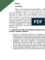 Informe Anual de Las Labores de Los Docente Sociales