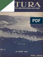 Natura Revista Stiintifica de Popularizare 28 Nr. 06 15 Iunie 1939