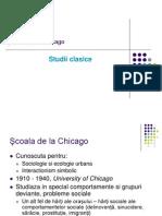 Scoala de La Chicago - Studii Clasice