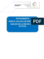 Procedimiento Para La Simulacion de La Red de MVFinal