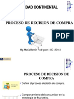 Clase Marketing Semana 14 Proceso de Decision de Compra