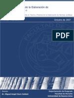 Teoria y Practica en La Elaboracion de Normas Juridicas.pdf Oct 2007