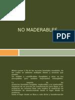 Principales Productos No Maderables