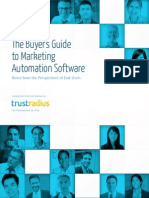 2014 Buyer's Guide to Marketing Automation
