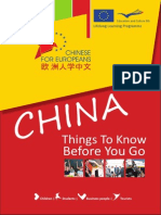 China Things to Know Before You Go En