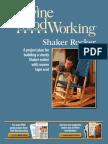 Free Plan Shaker Rocking Chair