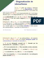 TEMA 2. Diagonalizacion Endomorfismos