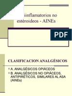 Antiinflamatorios No Esteroideos - AINEs