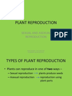 plant reproduction - sexual and asexual