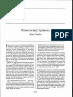 Romancing Spinoza - Allan Nadler - 2006