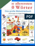 Meine Allerersten 1000 Wörter Das Grosse Bildwörterbuch
