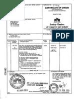 E.12- Certificate of Origin EKC