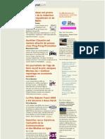 Essentiel de la presse et des relations presse du 10 décembre 2009