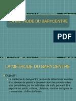 La Méthode Du Barycentre