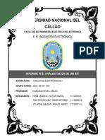 Informe N°3- ANÁLISIS DE CA DE UN BJT