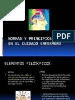 Normas y Principios Eticos en El Cuidado Enfermero