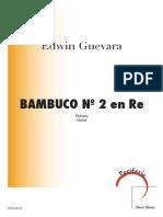 Bambuco n2 en Re