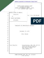 Harvey Whittemore Sentencing