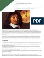 El Método de Descartes, Por Él Mismo
